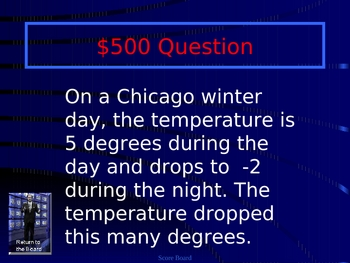 Jeopardy PowerPoint: 4th Grade Math STAR Review