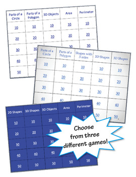 Geometry PowerPoint™ Games