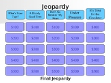 Jeopardy PowerPoint Review Game for Blood, Vessels, and Heart