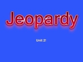 Jeopardy Powerpoint Game - Practical Biology: Chemistry Unit