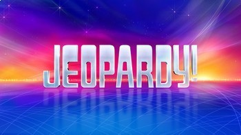 FREE Jeopardy Template Review Game - Professional, Clean and Dynamic