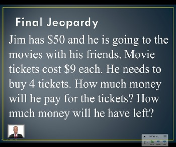 Jeopardy Review - EnVision Math Topic 5