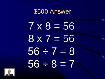 Jeopardy Review - EnVision Math Topic 8