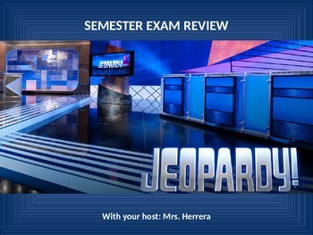 Jeopardy Review Game- Regions through Jackson Era