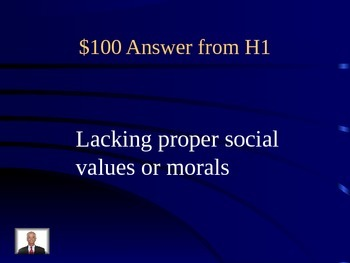 Jeopardy Review Game for Ayn Rand's Anthem Vocabulary