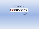 Jeopardy Review Game for Motion Basics