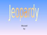 Jeopardy Review Grammar