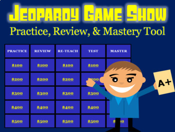 Re-writing Decimals (hundredths) Review: Math Jeopardy Game Show