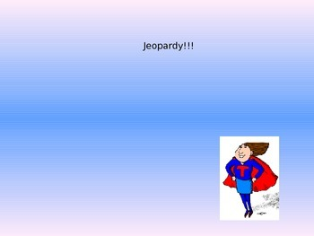 Jeopardy Review STAAR