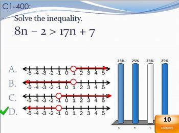 Jeopardy Review (Solving & Graphing Inequalities)
