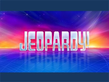 Jeopardy Review: The Wild West & Frontier