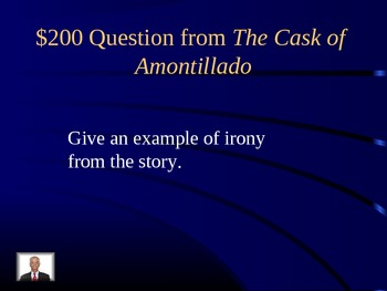 Jeopardy Review for Short Stories