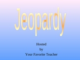 Jeopardy Review game for Everyday Math Grade 3 Unit 3