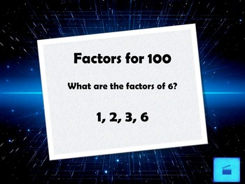 Jeopardy Review of Factors