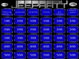 Jeopardy Spanish 1 Review