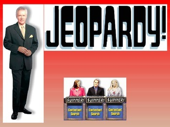 Jeopardy Standardized Test Math Review