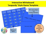 Trivia Game Board Template - Interactive whiteboard  Power