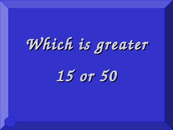 Jeopardy Style Math Review Game 2