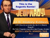 Jeopardy Style U.S. History (Regents) Review