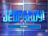 Jeopardy Template (25 Questions)
