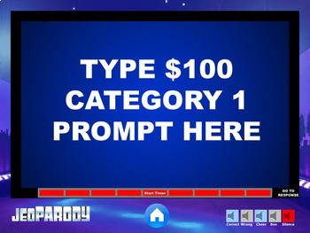 Excellent quality jeopardy powerpoint template mac pc jeoparody excellent quality jeopardy powerpoint template mac pc toneelgroepblik Gallery