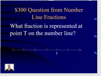 Jeopardy Third Grade Fractions