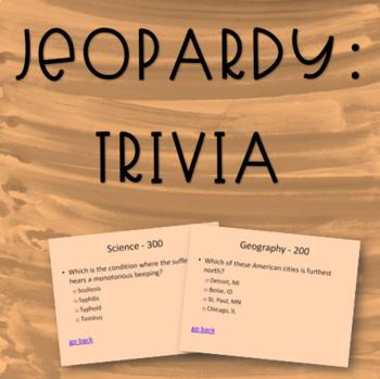 Jeopardy - Trivia