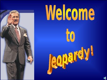 Jeopardy! Types of Matter