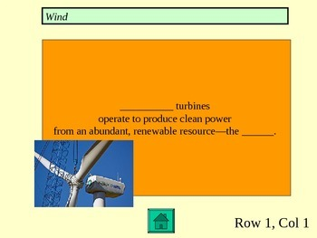 Jeopardy- Urban Environmental Issues- Power Point Game