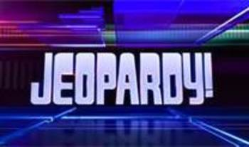 Jeopardy Verb Review