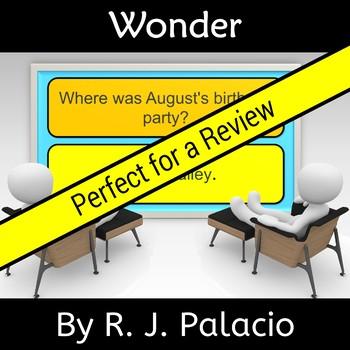 Wonder by R. J. Palacio  Novel Study Review
