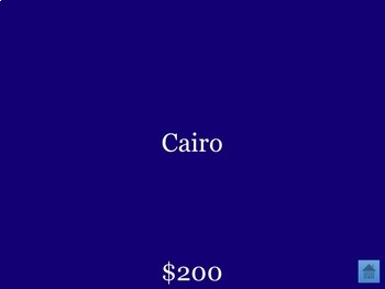 Jeopardy - World Capitals