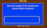 Jeopardy for US History 7th Grade New York Curriculum
