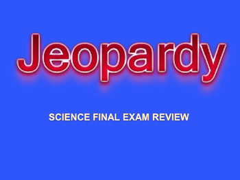Jeopardy for science concepts