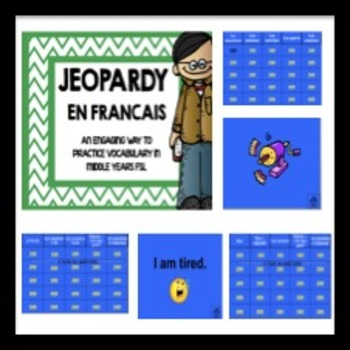 Jeopardy in French!