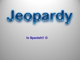 Jeopardy in Spanish!