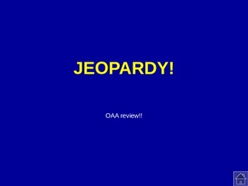 Jeopardy power point game-- common core math review -- #2