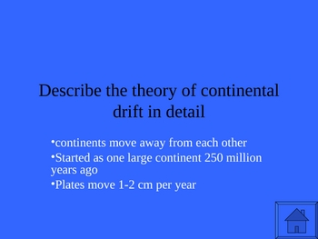 Jeopardy style PPT. game on the basics of Plate Tectonics (UPDATED)