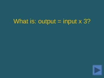 Jeopardy style grade 7 CMP math sampler