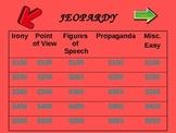 Jeoprady Review Game