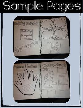 Jerdine Nolen Comprehension Club Kit for Interactive Reading Notebooks