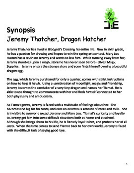 Jeremy Thatcher, Dragon Hatcher-Pairing fiction and Informational Books