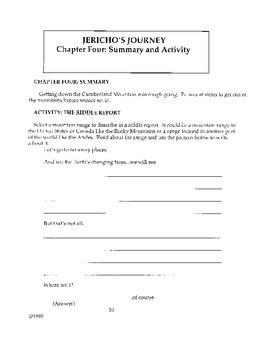 Jericho's Journey Literature Guide