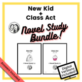 Jerry Craft - Printable + Digital Novel Study Bundle