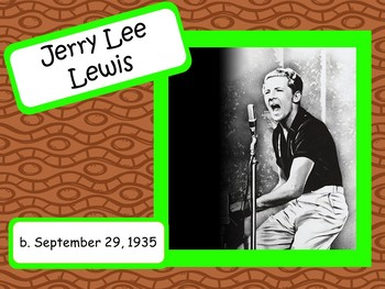 Jerry Lee Lewis: Musician in the Spotlight