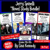 """Jerry Spinelli """"Bundle"""", Four Complete Novel Studies, Plus: Author Study"""