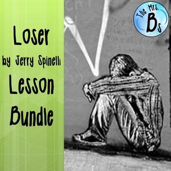 Jerry Spinelli's Loser Lesson Bundle {CCSS}