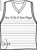 Jersey Basketball Kids {Craftivity}