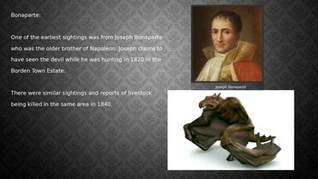 Jersey Devil - Cryptid - Power Point Full History Myth Pictures Facts
