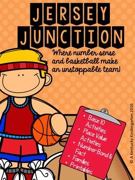 Jersey Junction Basketball Math Centers